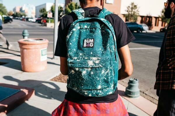 Bumbag Jackson Scout Backpack Green w/Acid Spots