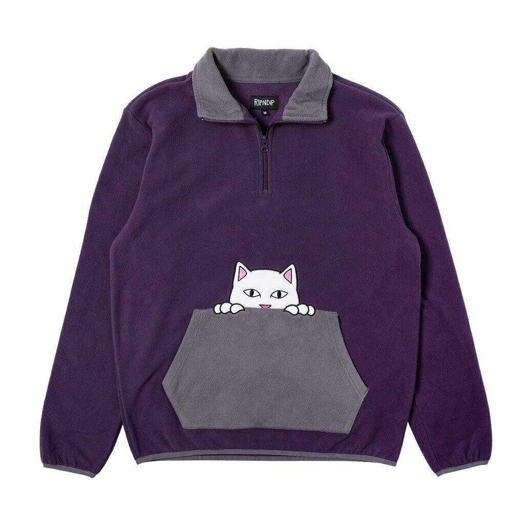 RIPNDIP NERM brushed fleece