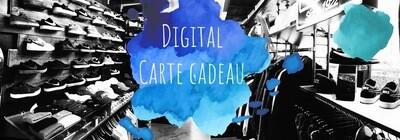 Digital carte cadeau