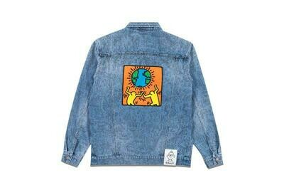 Keith HARING unity denim jacket