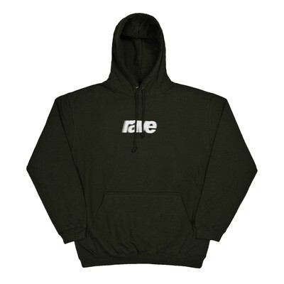 BLURRY LOGO hoodie forest