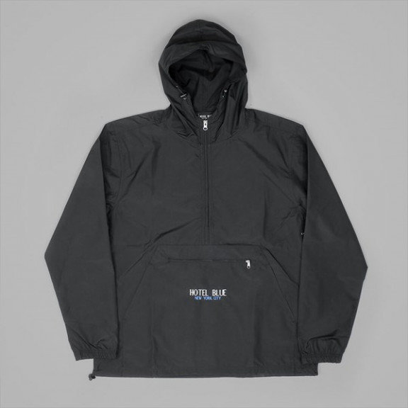 HOTEL BLUE KANGOUROO JACKET BLACK