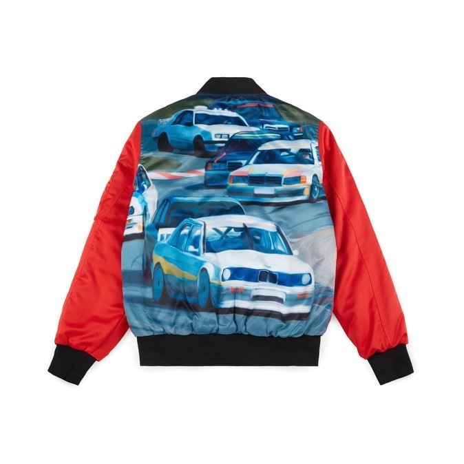 HUF Space Race Ma-1 Jacket