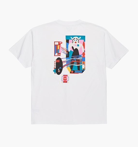 Tee Shirt Polar - Frequency - White