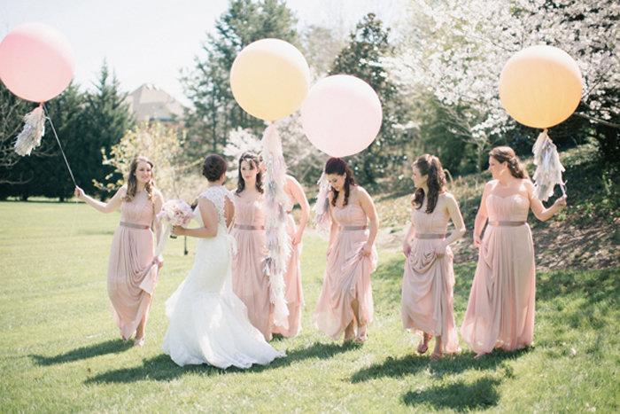 Reuze Ballon Helium Bruiloft