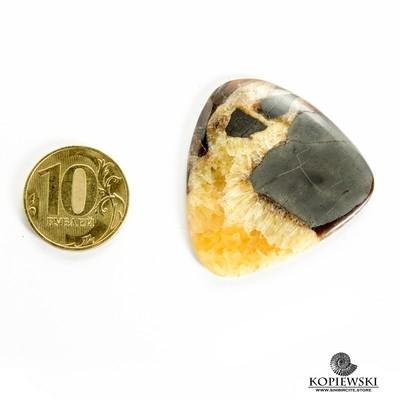 Симбирцитовый кабошон 40*40*3 мм