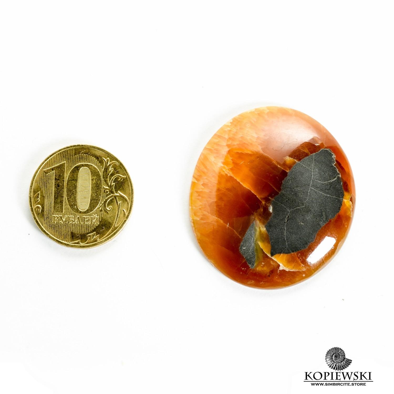 Симбирцитовый кабошон 35*35*3 мм