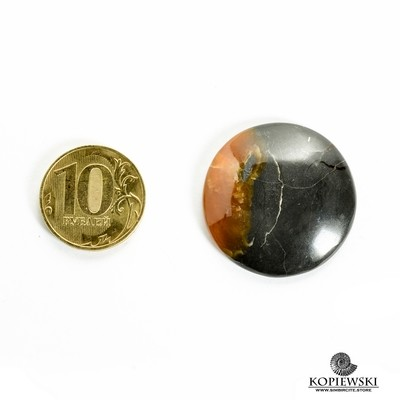 Симбирцитовый кабошон 30*30*3 мм