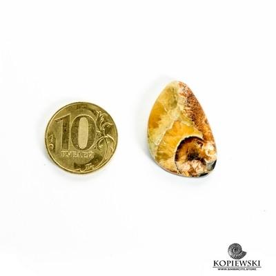 Симбирцитовый кабошон 30*20*3 мм