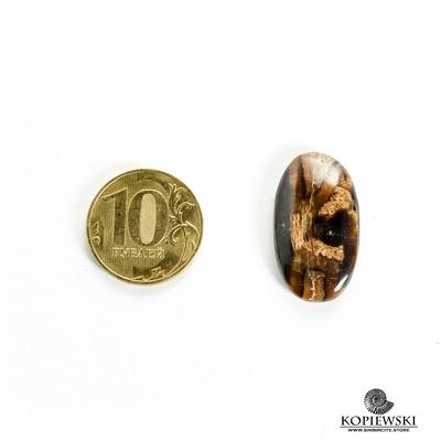 Симбирцитовый кабошон 25*15*3 мм