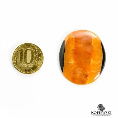 Симбирцитовый кабошон 40*30*3 мм