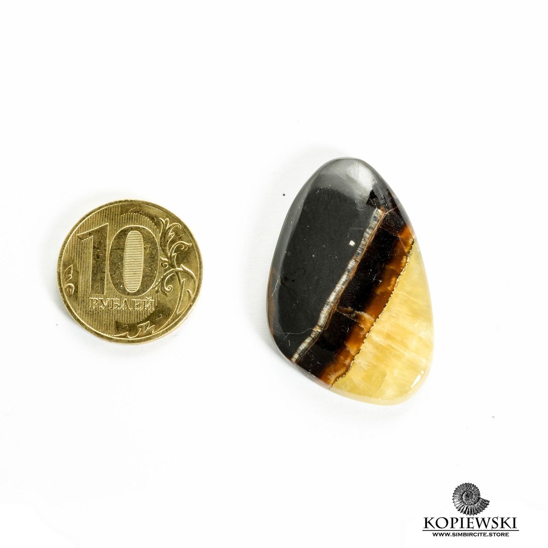 Симбирцитовый кабошон 35*25*3 мм