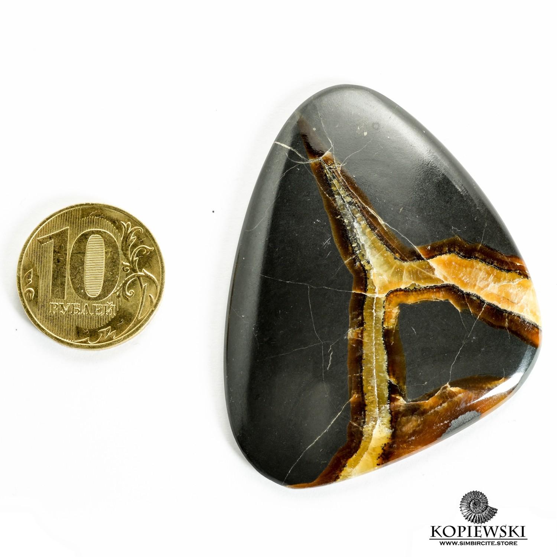 Симбирцитовый кабошон 60*47*3 мм