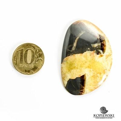 Симбирцитовый кабошон 50*35*3 мм