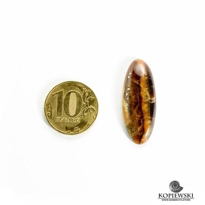 Симбирцитовый кабошон 35*15*3 мм