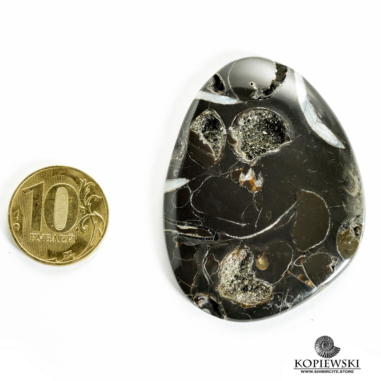 Кабошон танатоценоз 60*45*3 мм