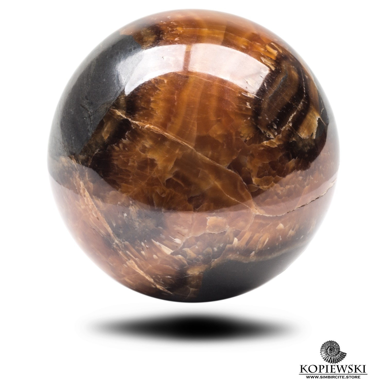 Шар из камня Симбирцит Ø 65-70 мм