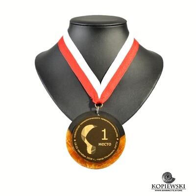 Медаль из камня