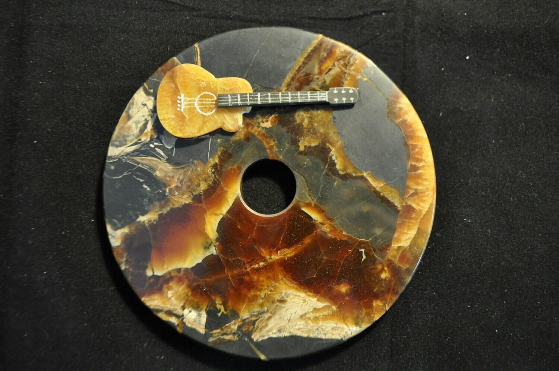 Сувенир диск с гитарой