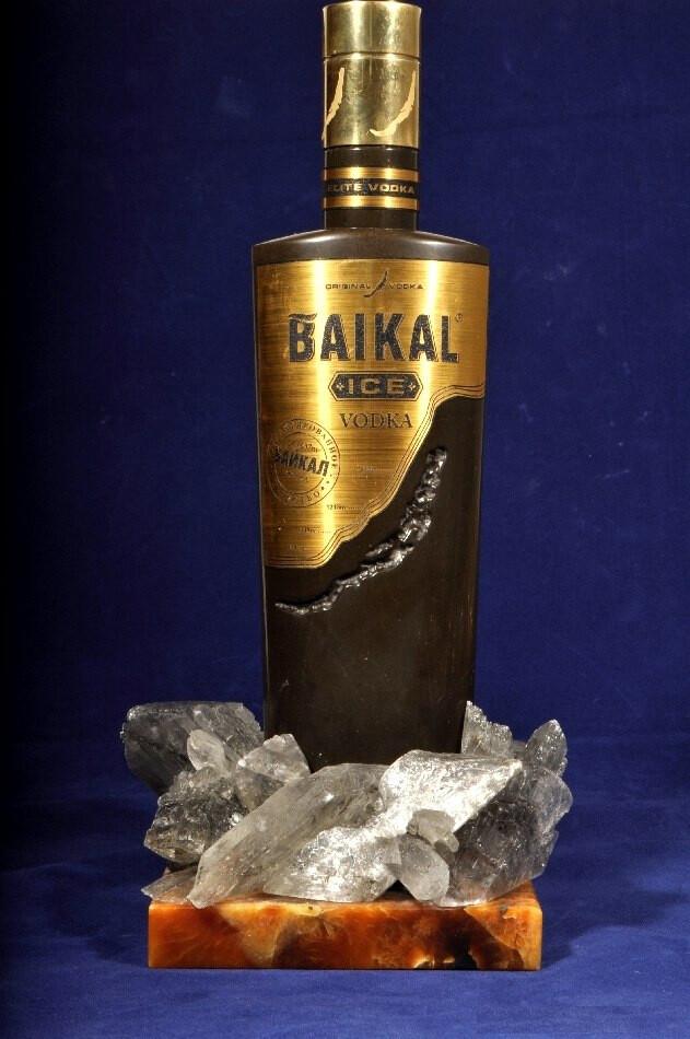 "Бутылка водки ""Байкал"""