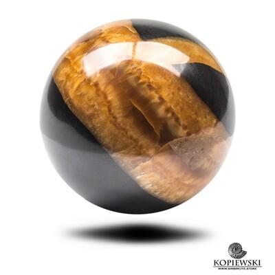 Шар из камня Симбирцит Ø 70-75 мм