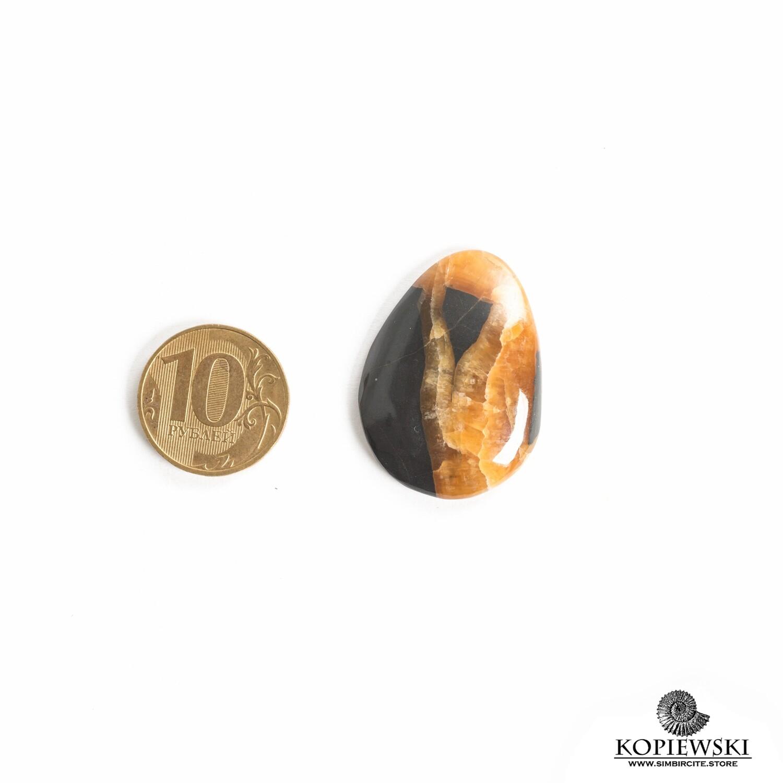 Кабошон Симбирцит 35*25*3 мм
