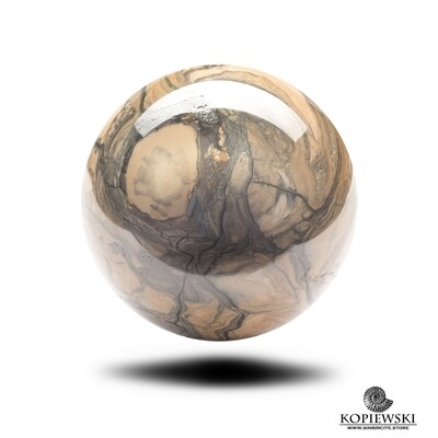 Шар из камня Сенгилит Ø 65-70 мм