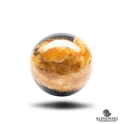 Sphere of stone Simbircite