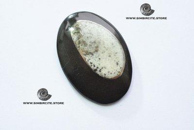 Кабошон танатоценоз 60*35*3 мм