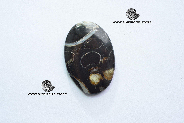 Кабошон танатоценоз 45*30*3 мм