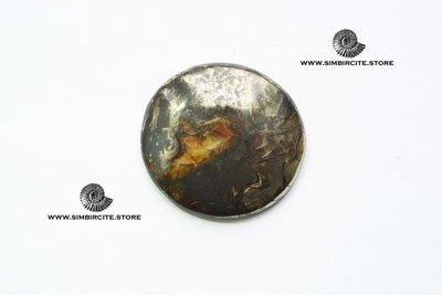 Аммонитовый симбирцит 38*38*4 мм