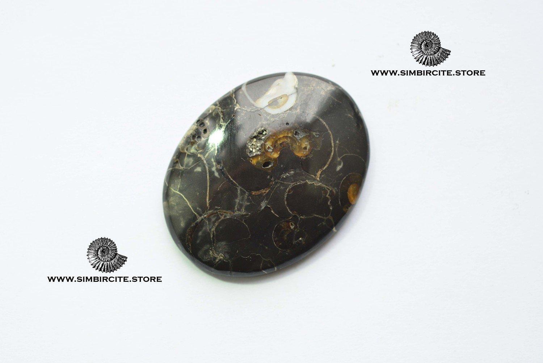 Кабошон танатоценоз 45*35*4 мм