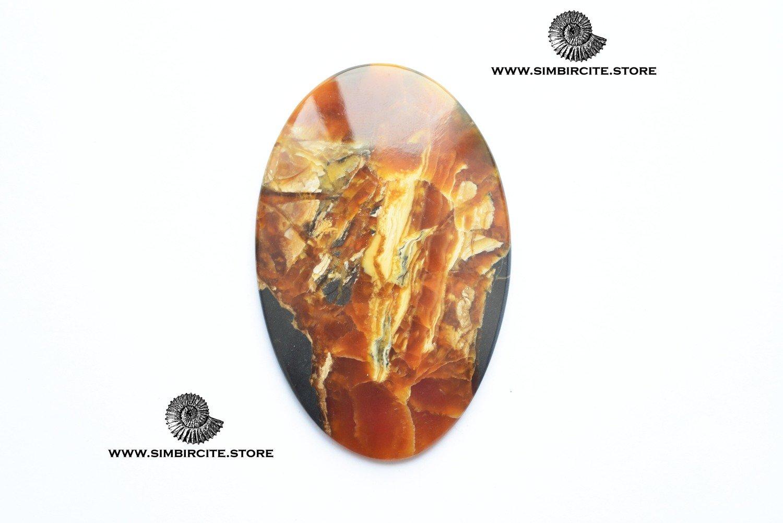 Аммонитовый симбирцит 72*48*3 мм