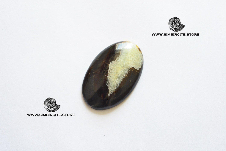 Симбирцитовый кабошон 40*26*4 мм