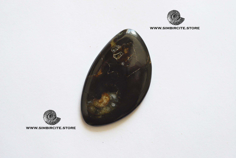 Кабошон танатоценоз 45*26*3 мм