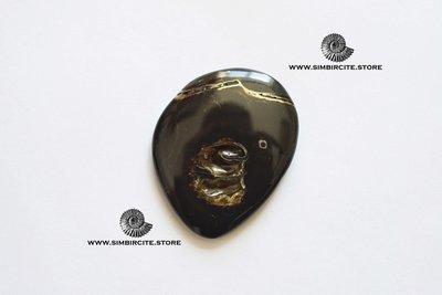Кабошон танатоценоз 45*35*3 мм