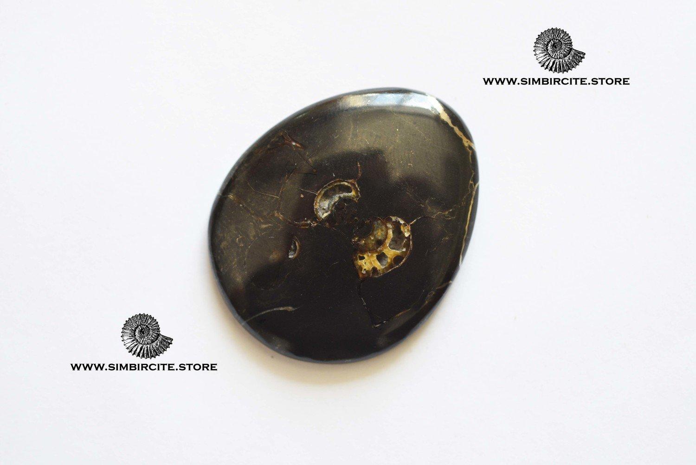 Кабошон танатоценоз 45*38*5 мм