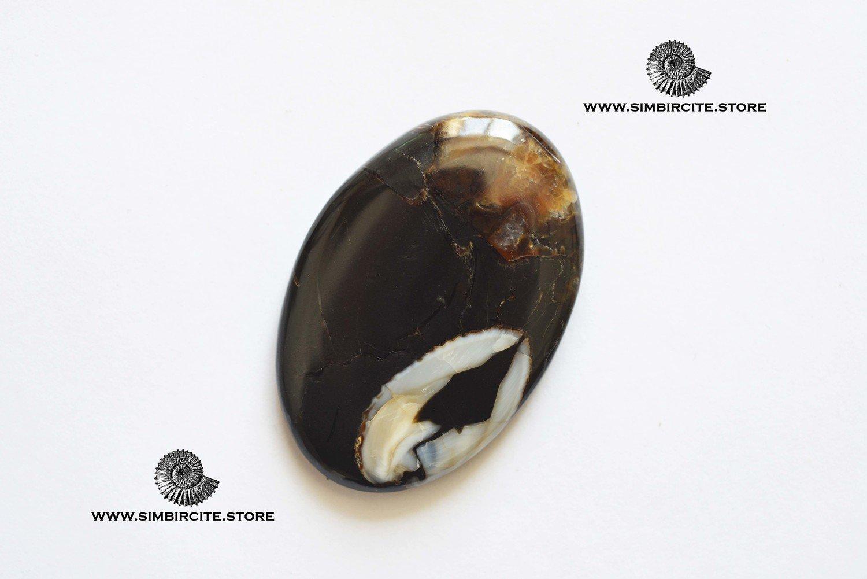 Кабошон танатоценоз 45*30*4 мм