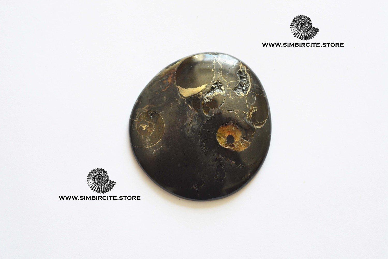 Кабошон танатоценоз 45*43*3 мм