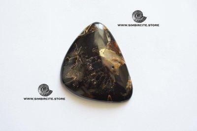 Аммонитовый симбирцит 57*48*3 мм