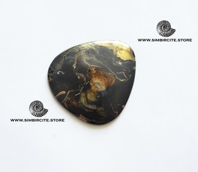 Кабошон танатоценоз 45*40*3 мм