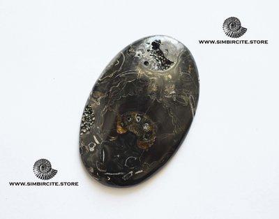 Кабошон танатоценоз 53*35*4 мм