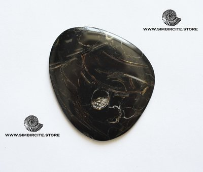 Кабошон танатоценоз 60*50*3 мм