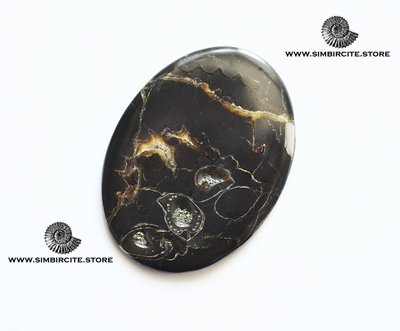 Кабошон танатоценоз 56*42*3 мм