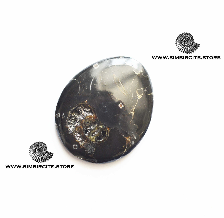Кабошон танатоценоз 50*30*3 мм