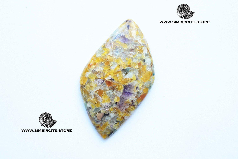Мозаичный Симбирцит (Владелит) 60*35*5 мм