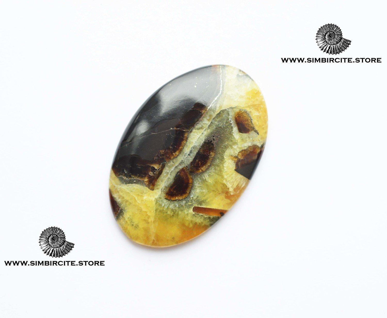 Симбирцитовый кабошон 48*32*3 мм
