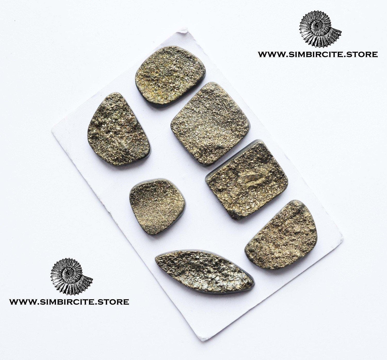 Спетропирит (Марказит) набор кабошонов