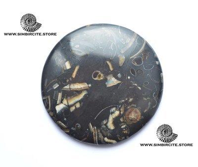 Кабошон танатоценоз d59*5 мм