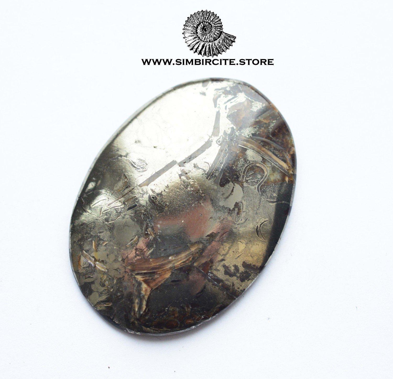 Аммонитовый симбирцит 46*33*4 мм
